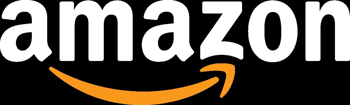 Amazon white logo